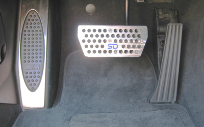 Bmw E46 M3 >> E46 Left-Foot Brake Pedal