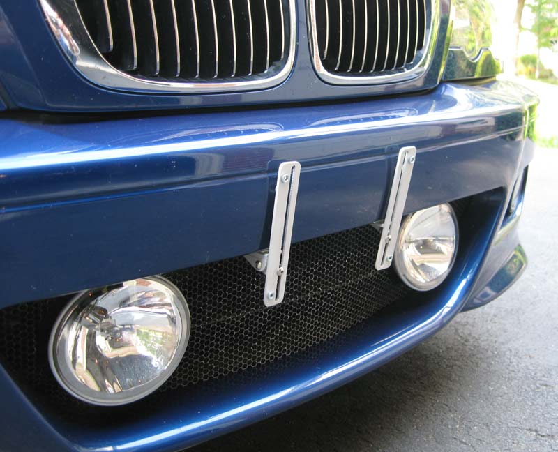 No Holes Front License Plate Bracket