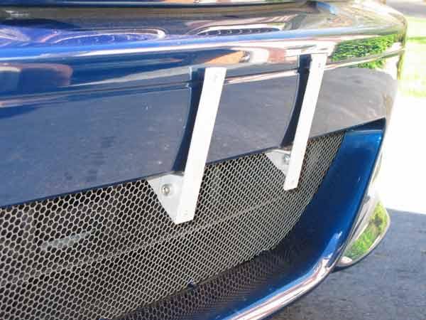 License Plate over ZHP Front Grille  E46Fanatics